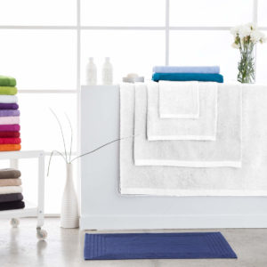 Toallas de baño abece modelo alfa color blanco