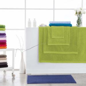 Toallas de baño abece modelo alfa color verde