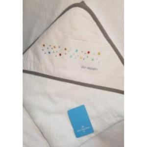 Capa de baño para bebés don algodón M/sky