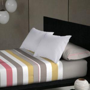 Juego de sábanas ADROS color rosa, 90-135-150, sábanas Don Algodón primera calidad