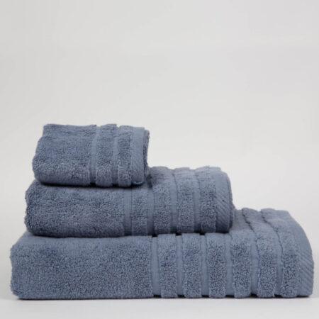 Toalla don algodón 100% algodón 600gr color azul