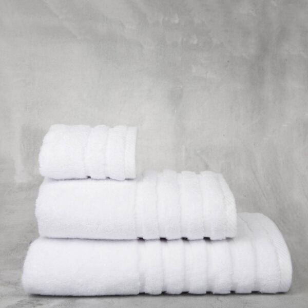 Toalla don algodón 100% algodón 600gr color blanco