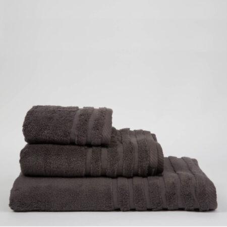 Toalla don algodón 100% algodón 600gr color gris