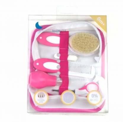 Kit nneceser para bebé en rosa