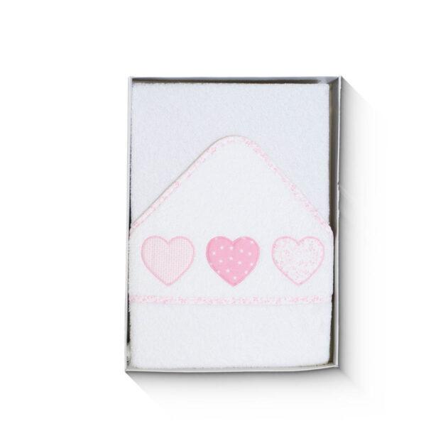 Capa de baño para bebés en algodón rizado
