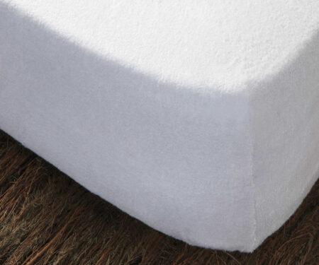 Funda de colchón de rizo elástico